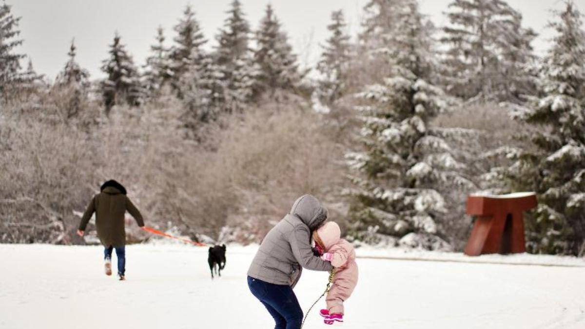 Erbeskopf Schnee