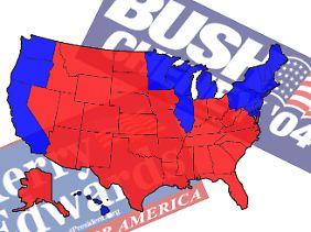 An dieser Wahl orientiert sich das Obama-Team: John Kerrys Niederlage gegen George W. Bush 2004.