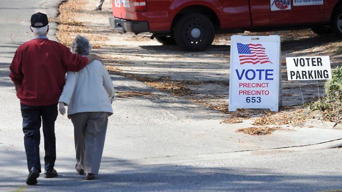 Bis zum November rollt die Wahlkampfmaschine noch durch das Land.