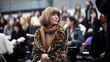 """Die Vogue-Chefin in den USA, Anna Wintour, ist Obamas Kontakt zur Modeindustrie. Wintour hat über eine halbe Million Dollar für den Wahlkampf gesammelt, unter anderem mit ihrem Projekt """"Runway to Win"""", bei dem sich auch Stars wie Beyonce, Puff Daddy und Scarlett Johansson engagierten."""