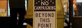 Der einzige Ort, an dem die US-Amerikaner zurzeit vor dem Wahlkampf sicher sind: Im Wahllokal.