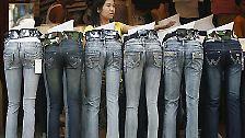 … eine Jeans 5.400 Liter.