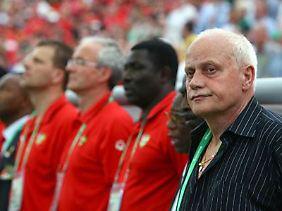 Pfister als Coach von Togo