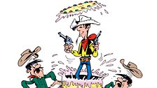 Seit Jahrzehnten fest im Sattel: Lucky Luke