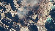 Der 11. September 2001: Die Katastrophe in Satelliten-Aufnahmen
