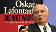 Machtmensch, Demagoge, Populist: Oskar Lafontaine