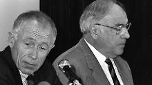 Heiner Geißler verliert auf dem Bremer CDU-Parteitag 1989 den Machtkampf gegen Helmut Kohl.