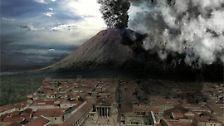 18 Stunden lang spuckt er riesige Mengen Gestein, Lava und Asche in die Luft.