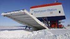 Die neue deutsche Forschungsstation in der Antarktis Neumayer III ist offiziell eröffnet.