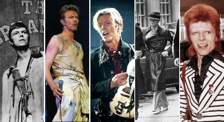 Er ist der Großmeister der Vielfalt. So viele unterschiedliche Rollen wie David Bowie hat in der Welt der Musik bislang kein anderer gespielt.