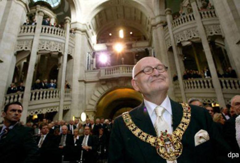 Nach 34 Jahren als Bürgermeister von Hannover ...