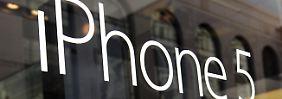 Trotz iPhone-Absatzrekords: Apple enttäuscht Anleger