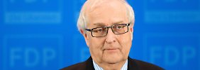 Steht in der Kritik: Rainer Brüderle.