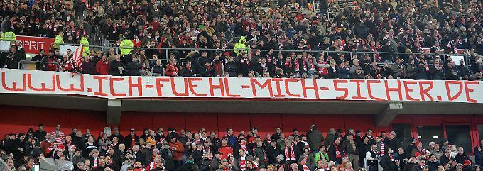 Die Fans wissen es schon lange: Die Bundesliga hat kein Gewaltproblem, der Fußball ist sicher.