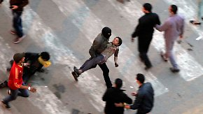 Gewalt vor Jahrestag des Aufstands: Kairos Polizei setzt Tränengas ein