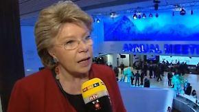 """Viviane Reding über Europa: """"Wir müssen die Bürger einbinden"""""""