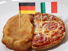 Auch Schnitzel und Pizza gehören zum Fast Food.