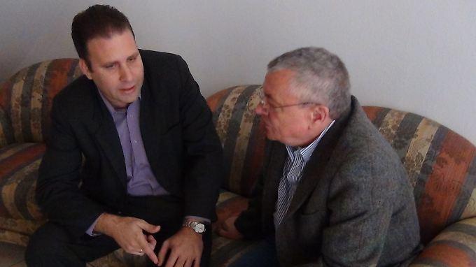 Manfred Bleskin im Gespräch mit Luís Morlote Rivas