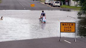 Queensland versinkt in den Fluten: Tausende Häuser stehen unter Wasser
