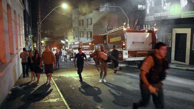 232 Disko-Besucher sterben in Brasilien: Pyro-Show führt zur Katastrophe