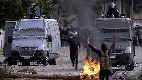 Bei den jüngsten Protesten kamen bisher Dutzende Menschen ums Leben.
