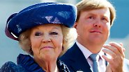 Abschied nach 33 Jahren auf dem Thron: Königin Beatrix dankt ab