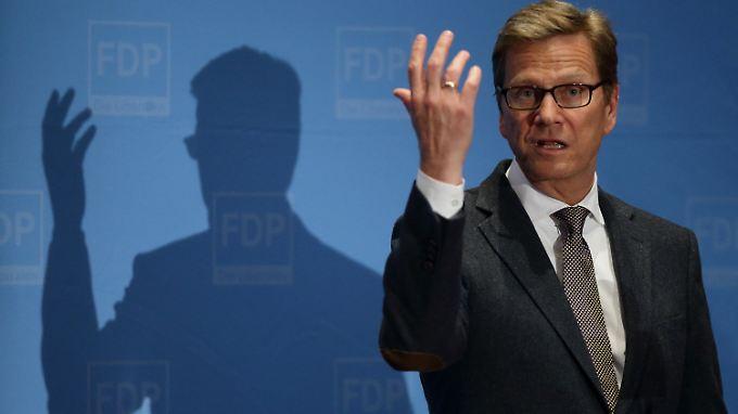 Verärgert über die Politik der russischen Regierung: Außenminister Westerwelle.
