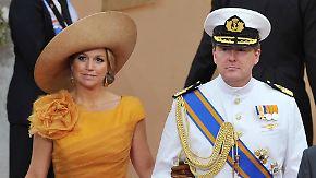 Niederländer lieben Máxima: Neues Königspaar begeistert