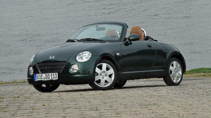 Der winzige Daihatsu Copen war originell, aber hierzulande ein totaler Flop.