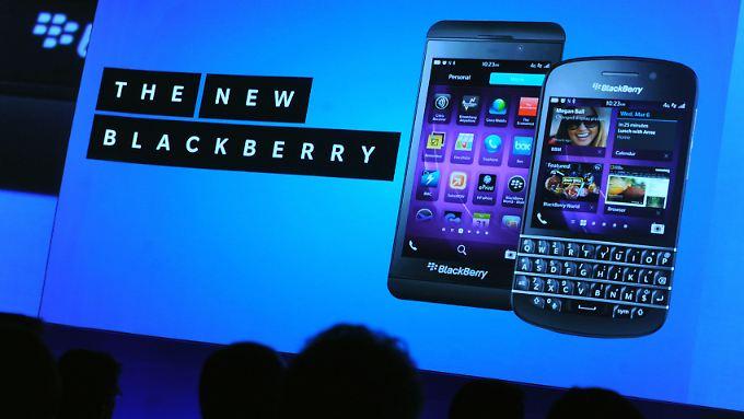Mit neuen Modellen an alte Erfolge anknüpfen? Blackberry versucht's.