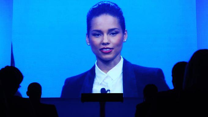 Alicia Keys kehrt zu ihren Wurzeln zurück: Blackberry-Smartphones.