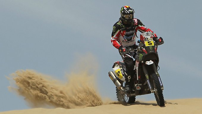 Husqvarna ist ein fester Bestandteil der Rallye Dakar.
