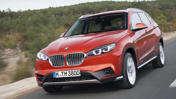 Ab 2016 ändert BMW für den X1 die Antriebsart.