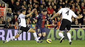 Valencia hat Barcelona ordentlich eingeheizt.