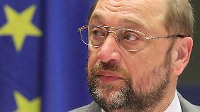 """Martin Schulz befürchtet, dass die EU-Länder """"in die Bedeutungslosigkeit absinken""""."""