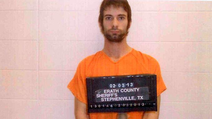 Eddie Ray Routh auf einem Foto der Polizei von Erath County.