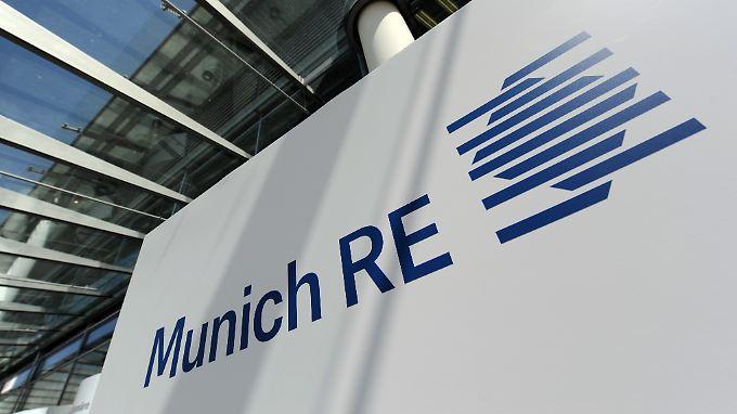 "Der Rückversicherer Munich Re hat trotz des Jahrhundertsturms ""Sandy"" seinen Gewinn vervierfacht."