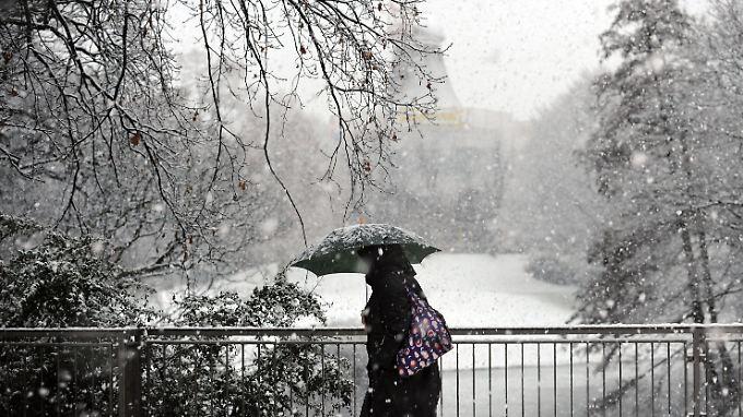 In den nächsten Tagen heißt es wieder: warm anziehen.