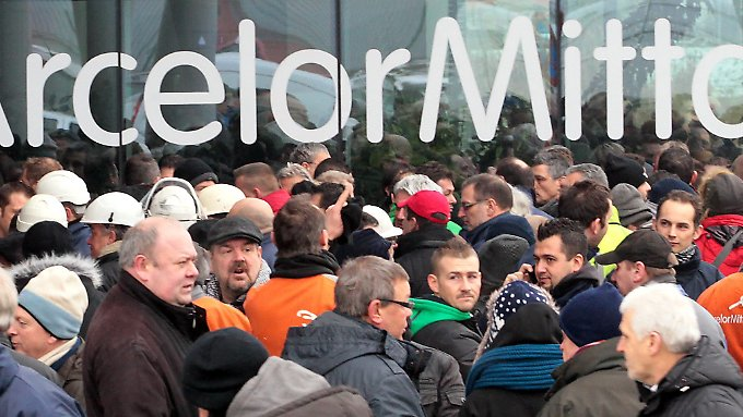 Herbe Verluste 2012: ArcelorMittal kämpft mit schwacher Konjunktur.