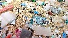 Sechs Mal mehr Plastik als Plankton befindet in sich in dieser Region im Wasser.