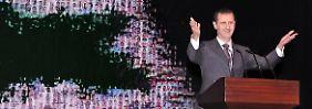 Assad stellt keine Vorbedingungen mehr für den Dialog.
