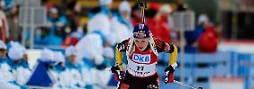 Einzelsprints bei der Biathlon-WM: DSV-Skijäger gehen leer aus