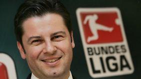 DFL-Geschäftsführer Christian Seifert ist begeistert vom sozialen Engagement der Leipziger.