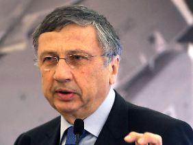 Der Hauptaktionär geht auf Distanz: Guiseppe Orsi steht unter Korruptionsverdacht (Archivbild).