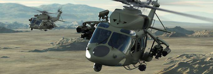 Zivile und militärische Hubschrauber: Im neuen Vorzeigemodell AW149 steckt Knowhow von AgustaWestland.