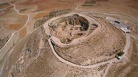 Blick auf den Berg Herodion.