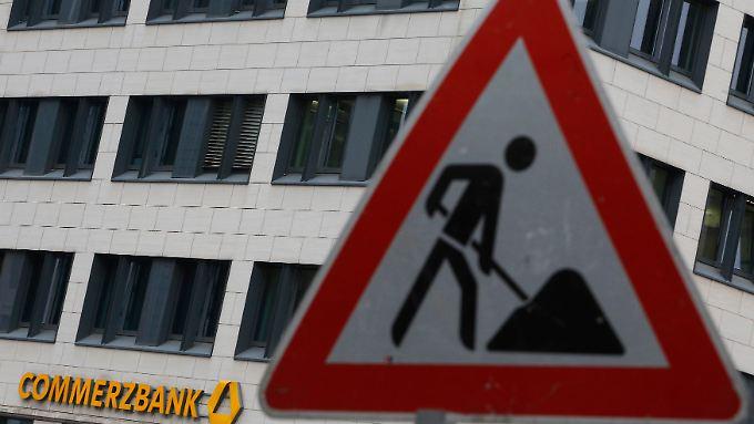 Der Umbau wird die Commerzbank noch eine ganze Weile begleiten.