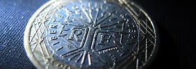 Zu wenig Euro: Frankreichs Haushaltsdefizit ist zu groß.