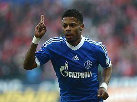 Michel Bastos: Drei Spiele, drei Tore für den FC Schalke.