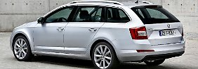 Mit 610 Liter Kofferraumvolumen gehört der Skoda Octavia Combi erneut zu den größten Kombis in der Mittelklasse.